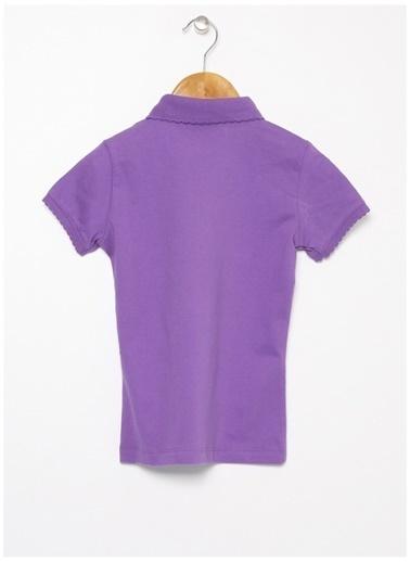 U.S. Polo Assn. U.S. Polo Assn. Mor Kız Çocuk T-Shirt Mor